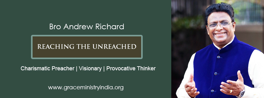 Bro Andrew Richard is a charismatic preacher, Visionary, Provocative thinker who opeartes Grace Ministry Mangalore, a global humanitarian organization in India with the aim of reaching the unreached.