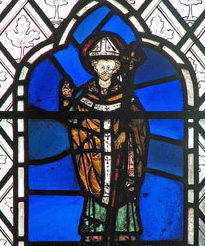St Edmund of Abingdon who was born at circa in 1174 was a 13th-century Archbishop of Canterbury in England. He became a respected lecturer in mathematics at the Universities of Paris and Oxford.