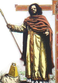 St Fillan of Munster, the son of Feriach, grandson of Cellach Cualann, King of Leinster, received the monastic habit in the Abbey of Saint Fintan Munnu and came to Scotland from Ireland in 717AD.