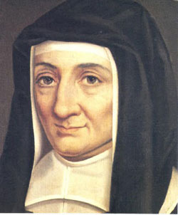 Saint Louise de Marillac who was born on August 12, 1591 was the co-founder, with Saint Vincent de Paul, of the Daughters of Charity. Louis was a member of the prominent de Marillac family