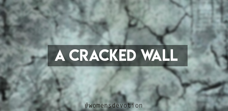 The first cracks in your wall aren't a problem. Your heart races a little as you take the first inappropriate glance or the small amount of money that no one will miss. Your sense of entitlement grows, and your walls feel impenetrable.