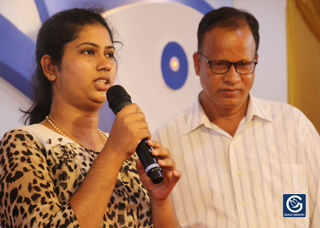 A young girl who was Demon Possessed for almost five long years receives total deliverance after attending the prayers of Grace Ministry in Mangalore.