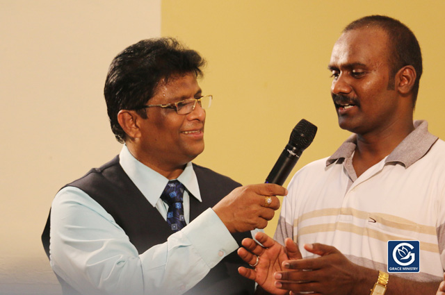 Manjunath from Bangalore receives complete Deliverance from the spirit of Extreme Anger after constant hearing of Bro Andrew Richard Sermons on Youtube.