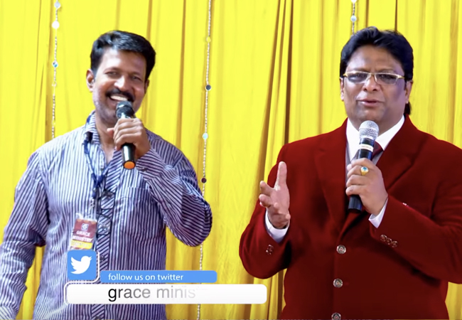 I was suffering from Typhoid for eight years, but the day I attended the prayers of Grace Ministry in Bangalore by Bro Andrew Richard, I received complete healing from the almighty God.
