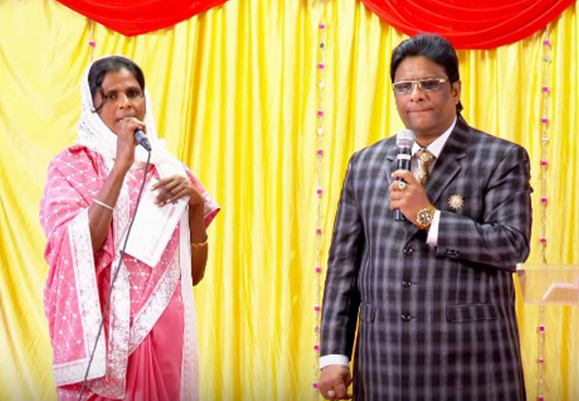 The beloved sister who attended the Grace Ministry prayer in Bangalore received total healing from Dengue, and now she stands as a testimony before God.