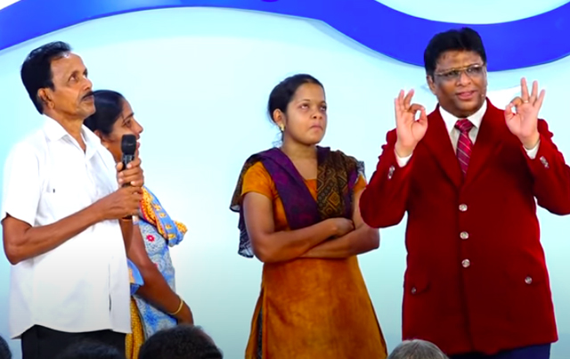 Beloved brother from Mangalore who was addicted to smoking for 30 long years received complete deliverance following the prayers of Grace Ministry at prayer centre in Mangalore.