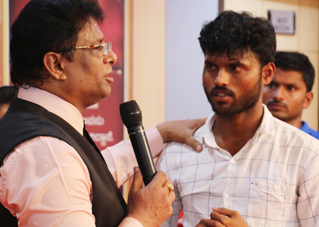Shimoga Based Youth who was a JCB driver is now the owner after he started to watch the sermons of Bro Andrew Richard on YouTube. Live Testimony from Grace Ministry Prayer Center in Balmatta, Mangalore.