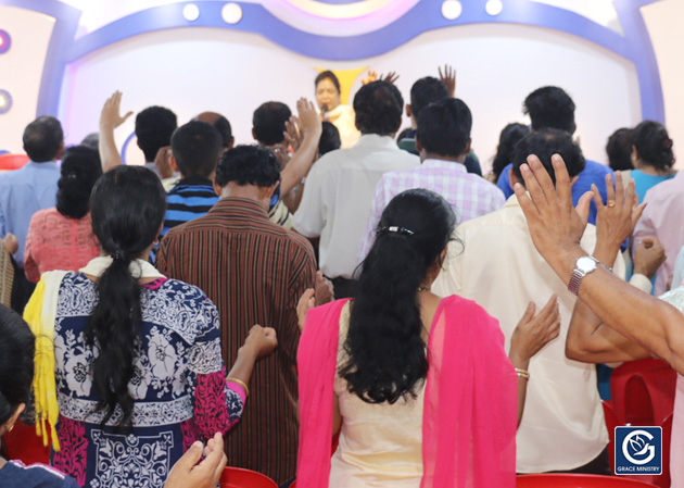 Instantly Healed from Stomach Gland through the prayers of Sis Hanna Richard while attended the retreat prayer of Grace Ministry at its prayer centre in Balmatta, Mangalore