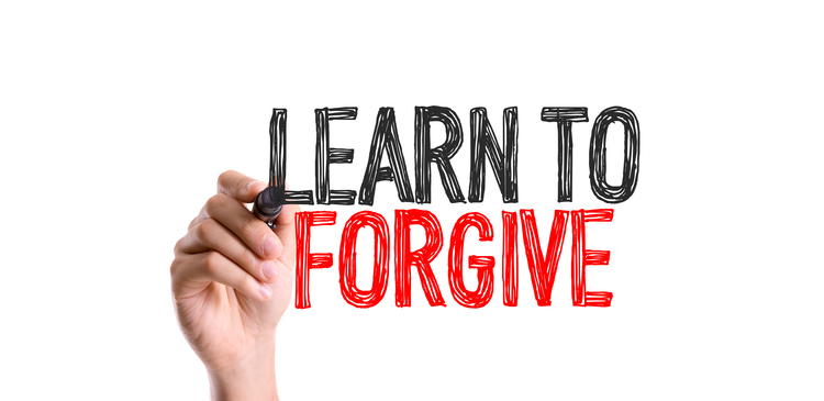 Learn to forgive because the Researchers have proved that people who harbor grudges and bad feelings towards others, can bring on themselves not only mental problems but also physical distress and illness.