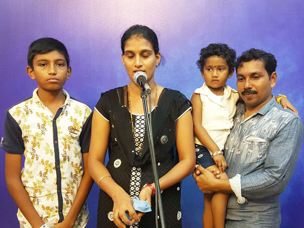 Young boy healed from Mental illness after prayers at Grace Ministry in Mangalore, during Konkani retreat prayer by Bro Andrew Richard. After prayers, he began finding the exams very easy.