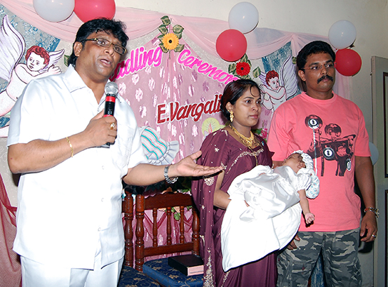 Miracle baby born in Mangalore after prayers at Grace Ministry in Mangalore.