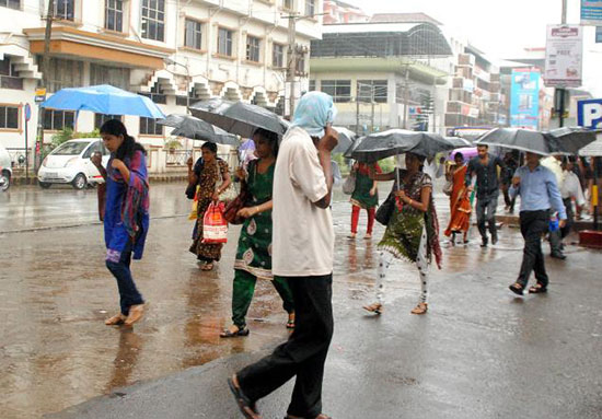 Good News: Rain In Mangalore, City With Showers Of Blessings. Grace  Ministry Mangalore